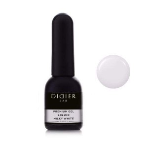 "PREMIUM GEL LIQUID ""DIDIER LAB"", MILKY WHITE, 10ML"