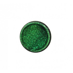 "MIRROR GLITTER POWDER ""DIDIER LAB"", GREEN (KT-CF002), 0,5G"