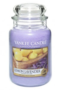 Yankee Candle Large Jar Lemon Lavender 623g