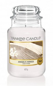 Yankee Candle Large Jar Angel Wings 623g