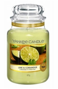 Yankee Candle Large Jar Lime & Coriander 623g