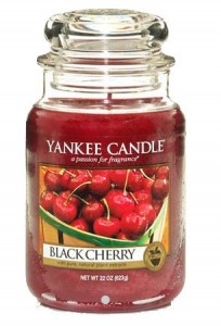 Yankee Candle Large Jar Black Cherry 623g