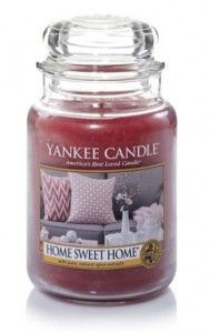 Yankee Candle Large Jar Home Sweet Home 623g