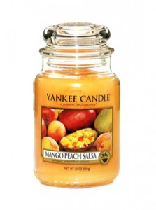 Yankee Candle Large Jar Mango Peach Salsa 623g