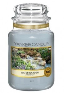 Yankee Candle Large Jar Water Garden 623g