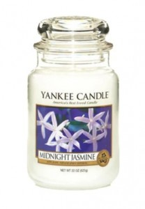 Yankee Candle Large Jar Midnight Jasmine 623g